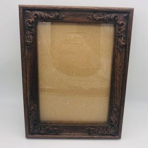 Simple Classic Ornate Wooden Boho Picture Frame